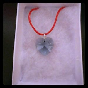 Jewelry - Arctic Blue Crystal Heart Necklace